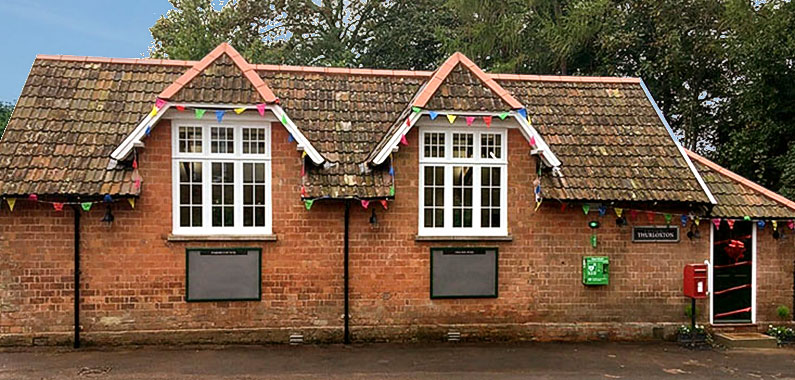 Thurloxton Village Hall's Grand Re-opening 5 October, 2019
